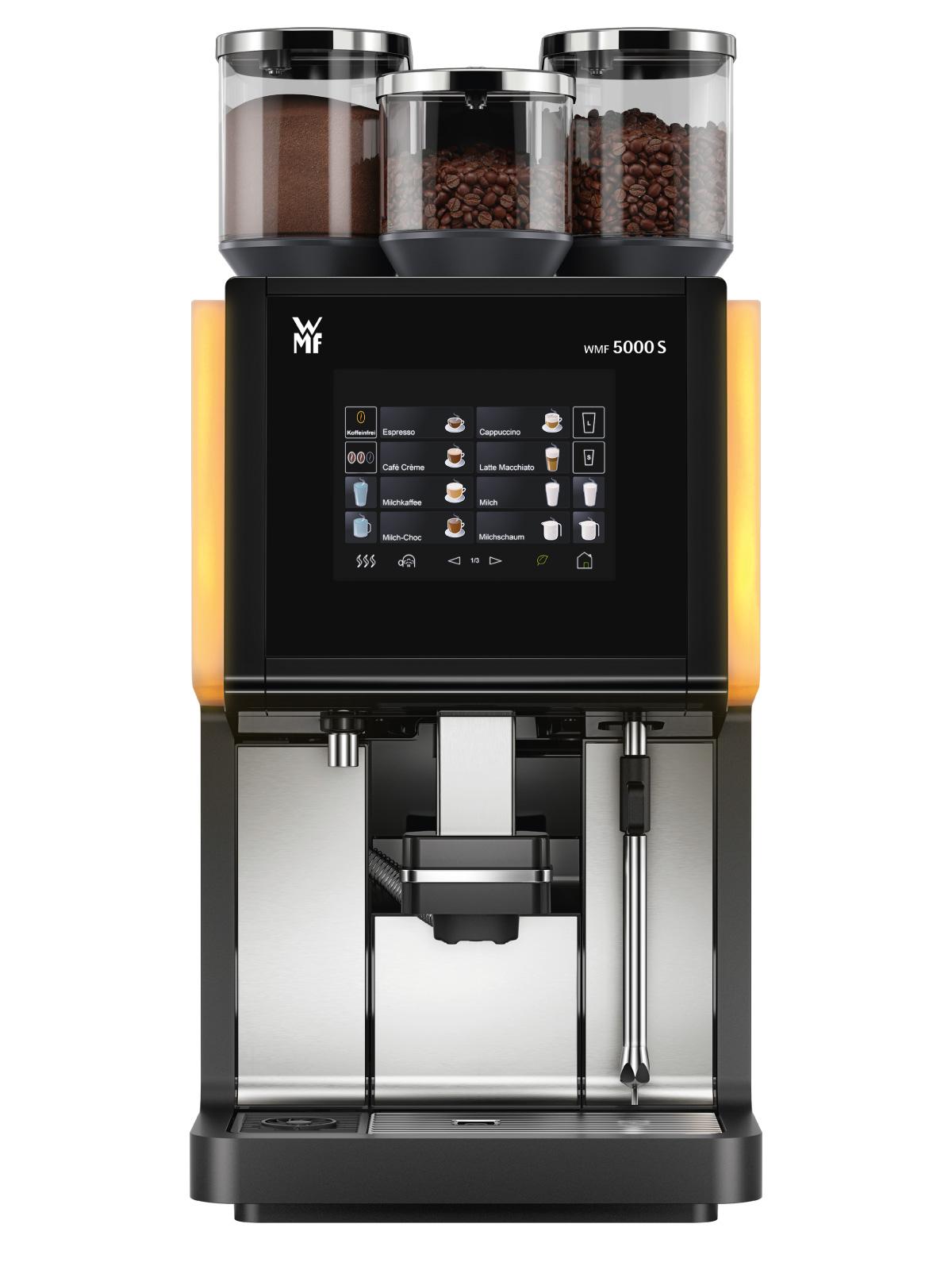 WMF 5000S, WMF , Espressor, HoReCa, Aparat de cafea, Cappuccino, Cafea boabe, Latte Machiatto