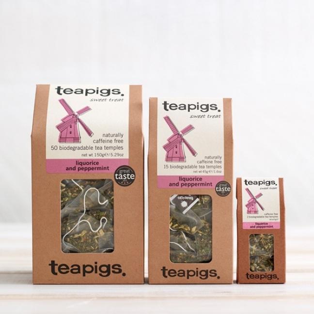 Liquorice and peppermint, Teapigs, Tea, Ceai, Ceaiuri Cluj, HoReCa, Ceaiuri Premium