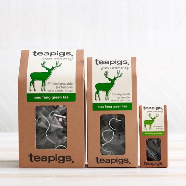 Ceai verde, Mao Feng, Teapigs, Tea, Ceai, Ceaiuri Cluj, HoReCa, Ceaiuri Premium