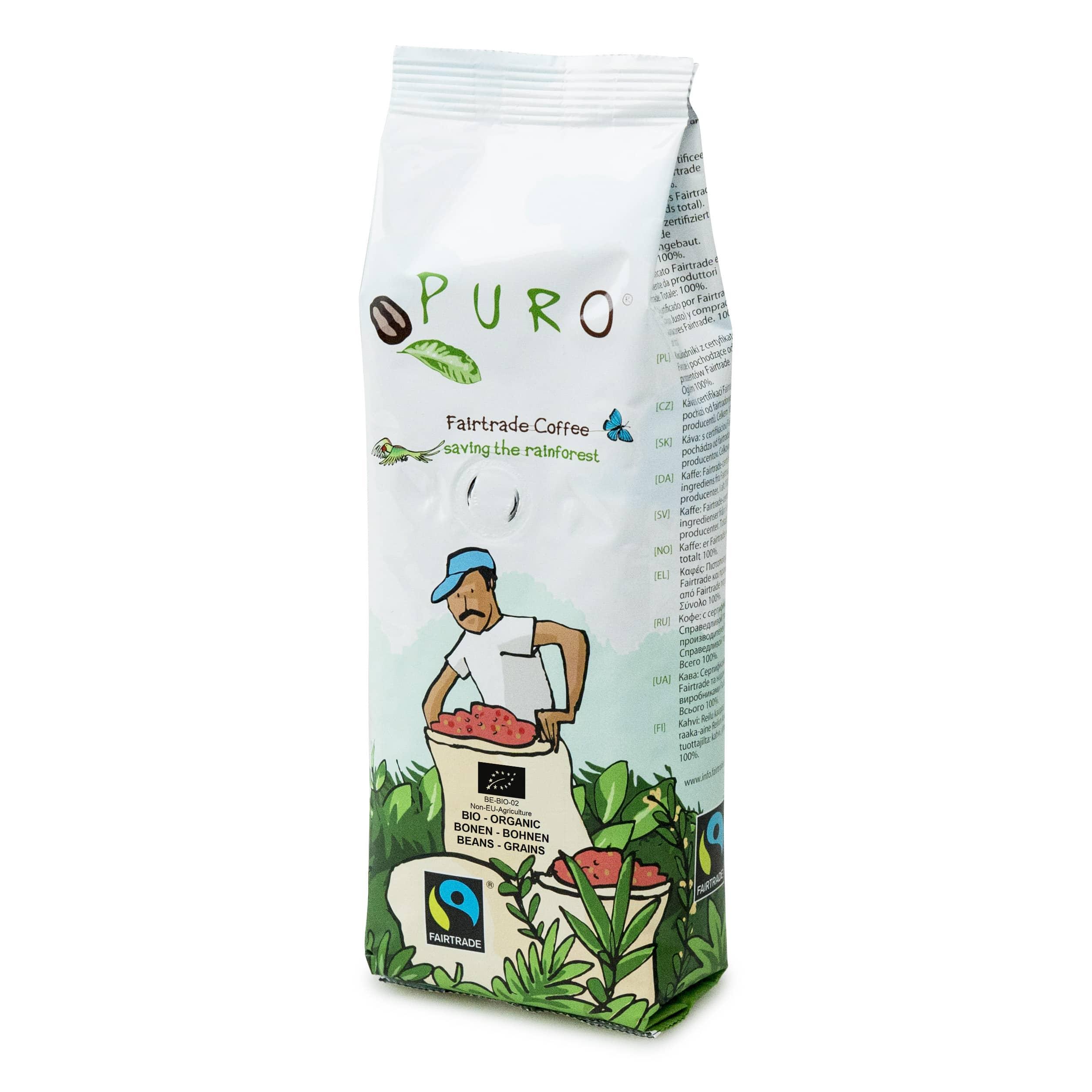 Cafea boabe, Puro, cafea bio, Arabica, Cafea Cluj-Napoca, cafea boabe Cluj-Napoca